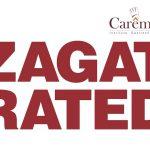 Reconocimientos gastronómicos_ Zagat Rated