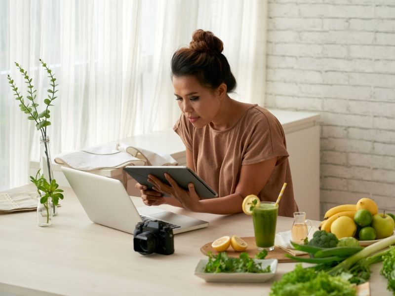 Experiencia gastronómica digital