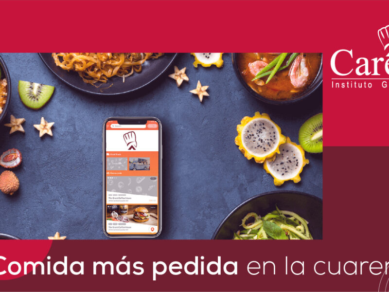 La comida a domicilio más pedida en la Cuarentena