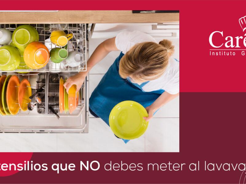 14 utensilios que NO debes meter al lavavajillas
