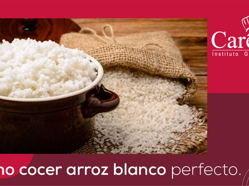 Cómo cocer arroz blanco perfecto